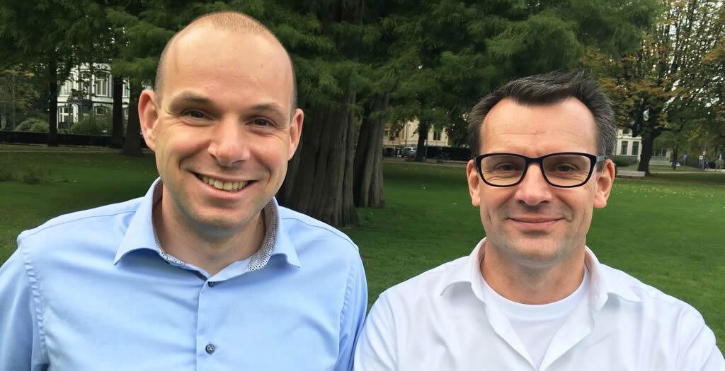 Jan van Wijgerden (Tredion ICT & Telecom) & Johan van Winden (ditp)